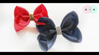 Laço De Fita 🎀 Ribbon Bow Tutorial #38 🎀 DIY by Elysia Handmade