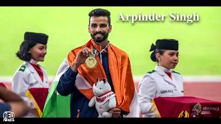 Arpinder Singh's Family | TRIPLE JUMP | Gold medal | Asian games | #asiangames