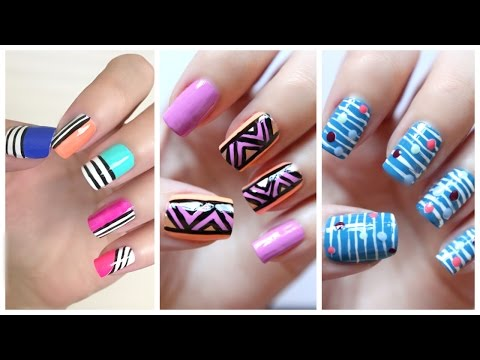 Easy Nail Art For Beginners!!! #20 | JennyClaireFox