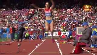 Triple jump women final European Athletics Championships 2014 Zurich
