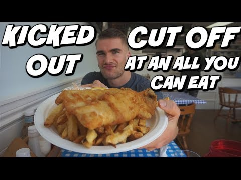 CUT OFF AT AN AYCE/BUFFET..Kinda? - English Fish And Chips - Secret Location