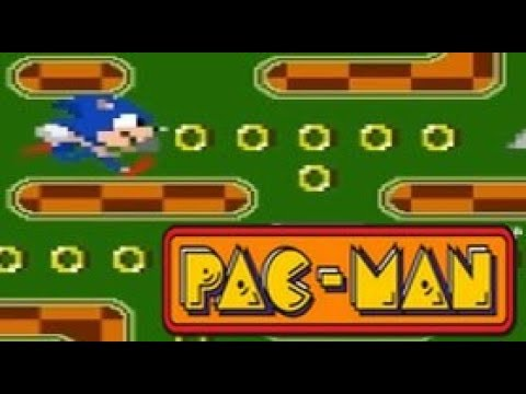 Sonic In Pac-man Game (Android)