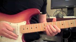 How to Play the Guitar Solo in China Grove