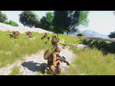75th RRC - Mountain Reconnaissance: Searching for Enemy Camps - Arma 3