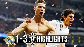 Реал Мадрид - Ювентус 1-3 Обзор Матча 11.04.18
