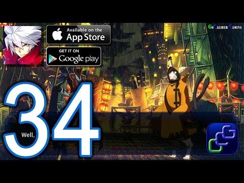 BLAZBLUE Revolution Reburning Android iOS Walkthrough - Part 34 - Chapter VIII: Master's Advice