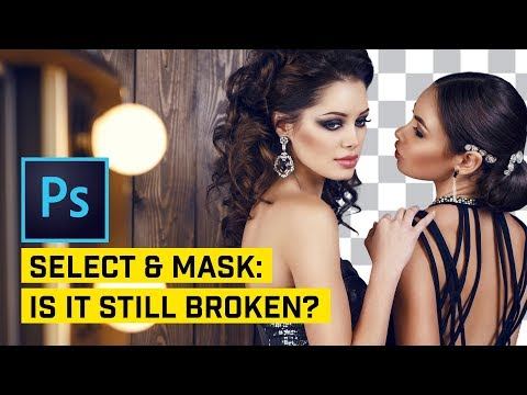 NEW v. OLD! Is Select & Mask BETTER? Photoshop CC 2018