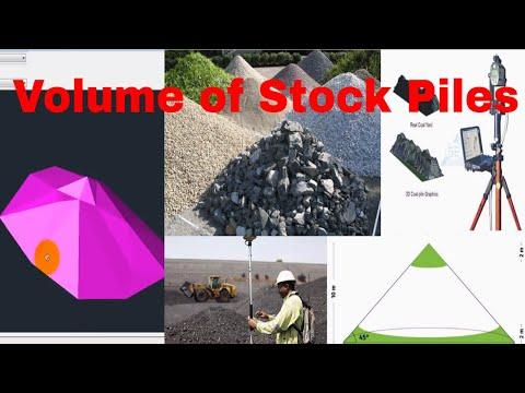 How to Volume Calculate of Stock Pile in AutoCad Civil 3d Urdu/Hindi