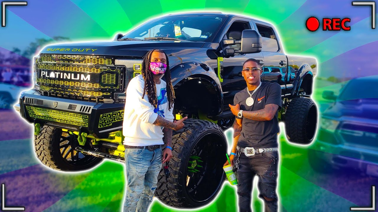 LINKED UP WITH LIFE OF COREY AND DONK MASTER AT THE CARSHOW - download from YouTube for free