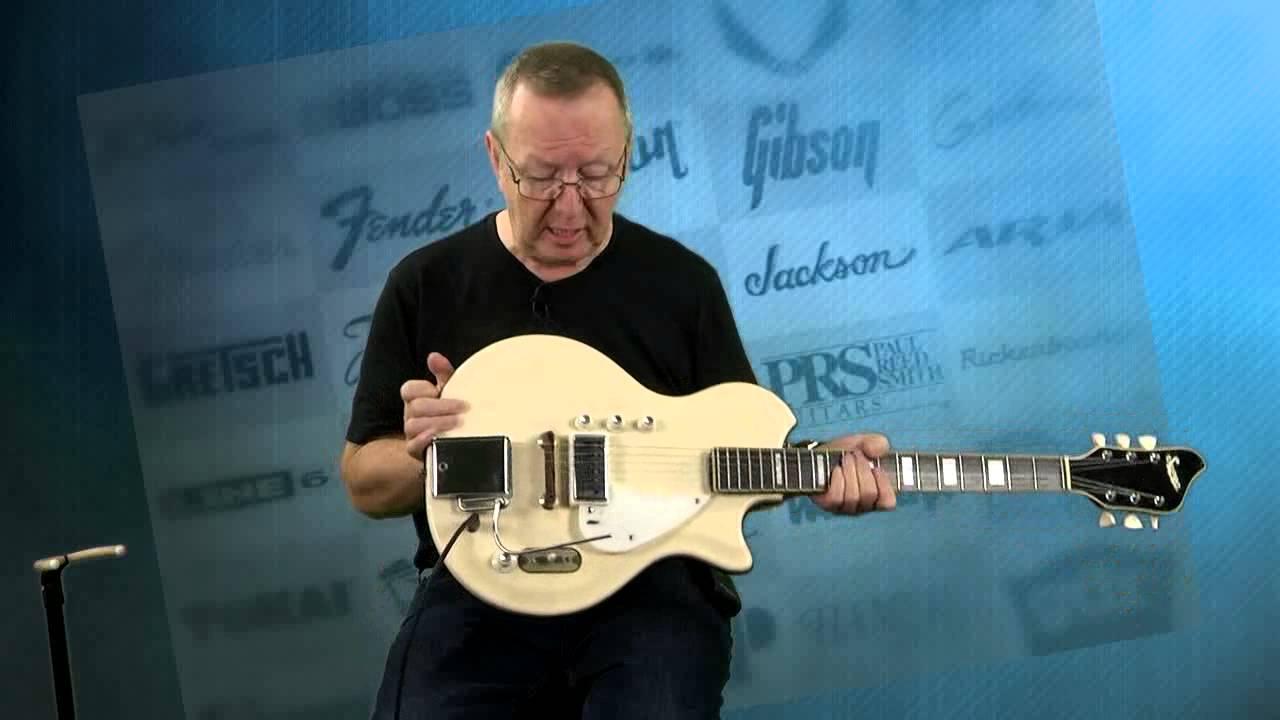 Vintage Guitars - RARE Supro Guitar Hollywood Model Resoglass ...