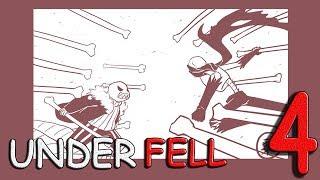 Озвучка комиксов undertale【RUS DUB Mr Fresh】UnderFell №4