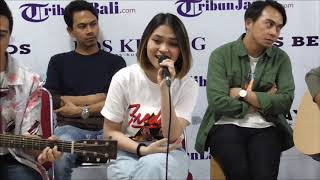 Geisha Mainkan Lagu Baru Kembali Pulang Dalam Format Akustik di Kantor Redaksi Tribunnews