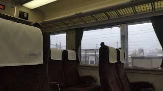 鉄道走行音:東武鉄道200型 特急りょうもう号 浅草ゆき(赤城→浅草山)2021年5月~モーター直上。