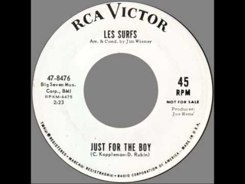"""Les Surfs -- """"Just For The Boy"""" (RCA) 1964"""