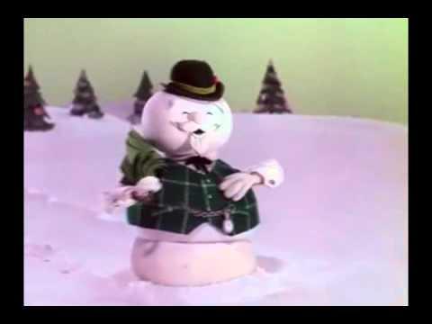 Sam the Snowman's short message.