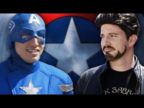 CAPTAIN AMERICA CIVIL WAR: The Avengers Pick Teams