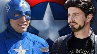 Captain America: Civil War - The Avengers Pick Teams