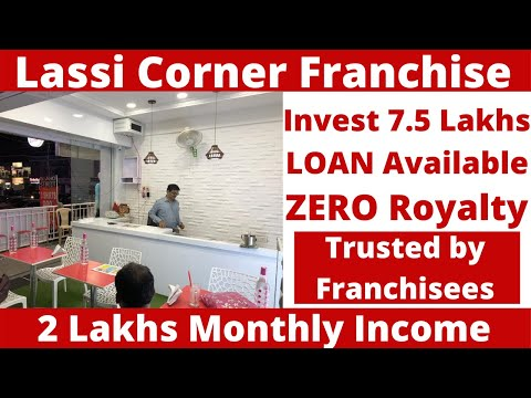 Lassi Corner Franchise, 1.5 Lakh Per Month Income, Low Investment High Returns