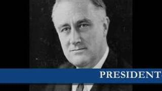 Franklin D. Roosevelt - Oath of office March 4th, 1933