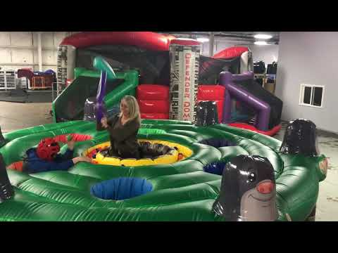 Inflatable Human Whack A Mole A&S Party Rental Cincinnati and Dayton Rentals www.asplayzone.com
