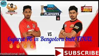FINAL KBD season 6  : Gujarat FG vs Bengoloru bull match final 🔥🔥😣😣🔥🔥