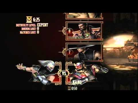 Mortal Kombat 9 - Smoke (Arcade Ladder) [Expert] No Matches Lost