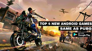 Top 4 Best New Games Like PUBG for Android with high graphics || by Zack