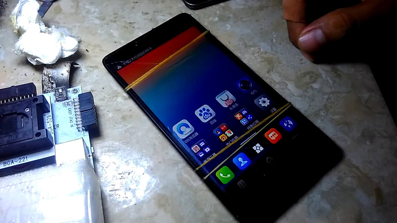 Tutorial Replace Emmc Lenovo A889 Youtube