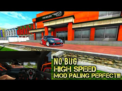 REVIEW MOD BUSSID MERCEDES BENZ AMG