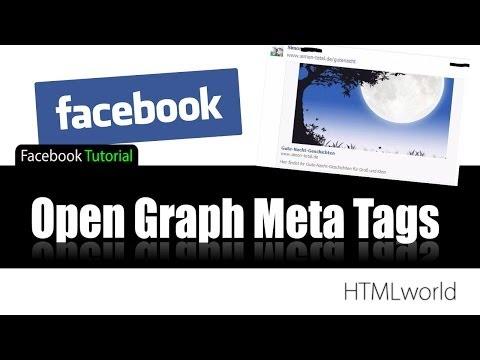 Facebook Tutorial: Open Graph META Tags // deutsch
