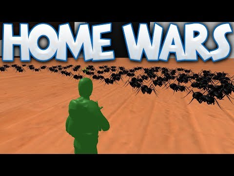 Home Wars - The Bug Reinforcements! - Crickets & Beetles & More - Home Wars Campaign Gameplay