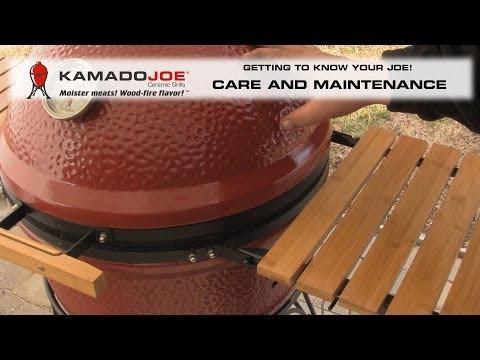 Kamado Joe - Care and Maintenance