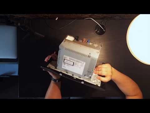 Установка магнитолы NissanConnect в Nissan Qashqai J11 G2 вместо монохромной