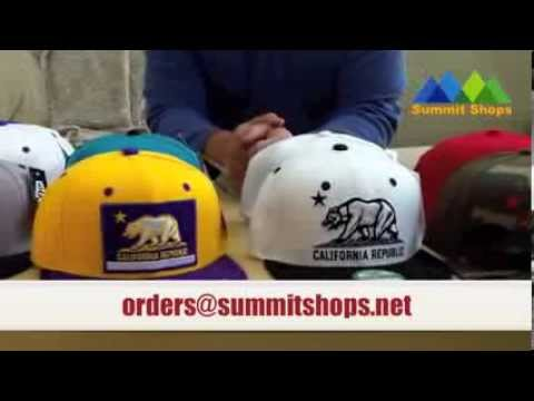 California Republic Snapback Hats Whang Decky