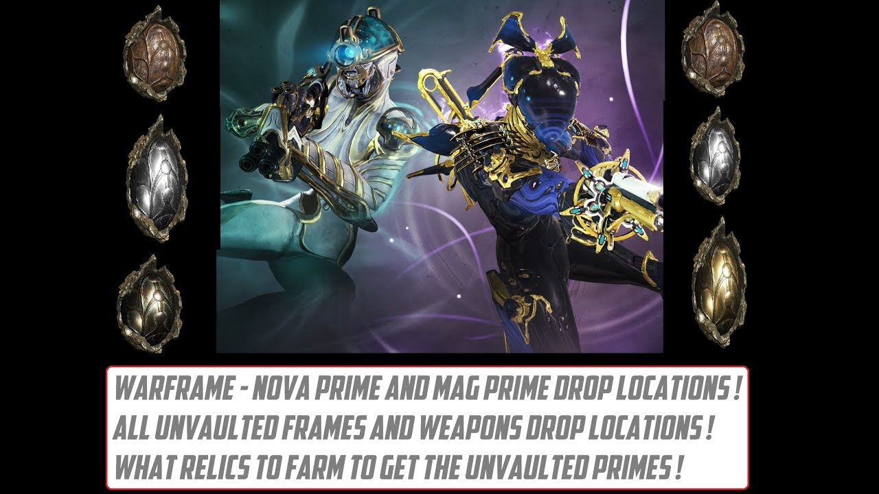 Warframe How To Get Mag Prime And Nova Prime All Unvaulted Prime Relics List Youtube Do you want to reset the current build and lose all the modifications ? warframe how to get mag prime and nova prime all unvaulted prime relics list