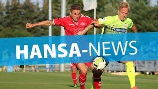 Hansa-News vor dem DFB-Pokalspiel gegen Hertha
