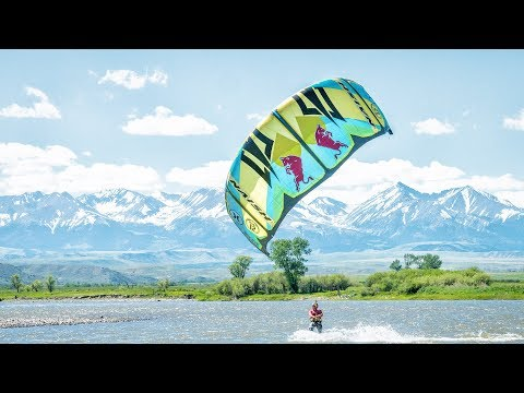 Download Youtube: The story behind the Yellowstone river kiteboarding w/ Kai Lenny.