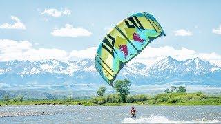 The story behind the Yellowstone river kiteboarding w/ Kai Lenny.