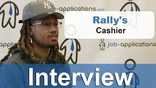 Rally's Interview - Cashier