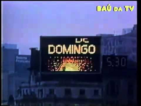 Programa de Domingo - Rede Manchete, 1984