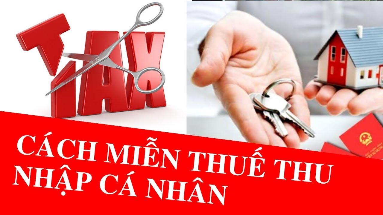 Cách miễn thuế thu nhập cá nhân khi mua bán nhà đất | Hà Luật Sư