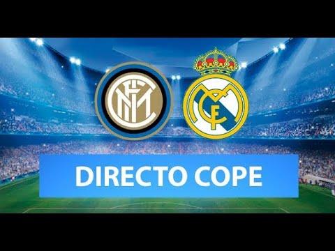 (SOLO AUDIO) Directo del Inter 0-1 Real Madrid en Tiempo de Juego COPE