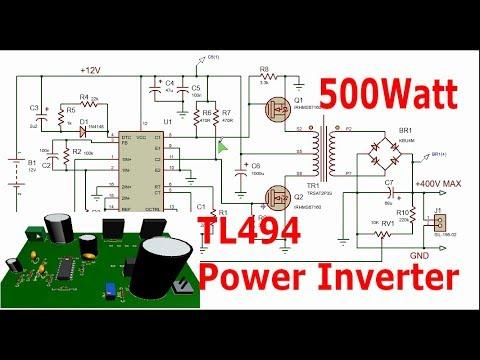Full Download] 12 240v Voltage Booster Inverter With Tl494 500watt