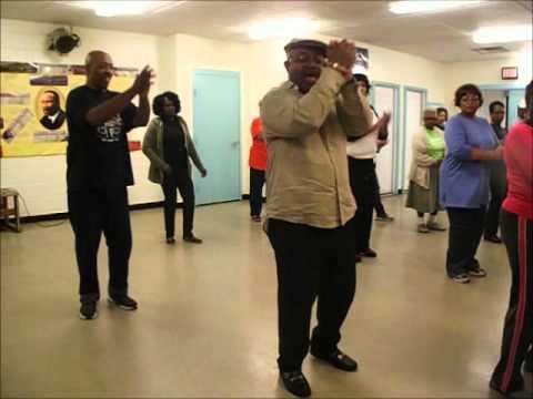 UNCLE DARROW line dance instruction - LINE DANCE EVOLUTION - 11-03-2014