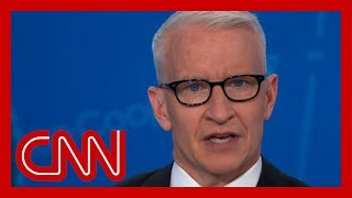 Anderson Cooper: Trump has given only a token sentence to this