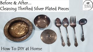 How to Clean Silver Plated Flatware & Other Pieces - DIY at Home!