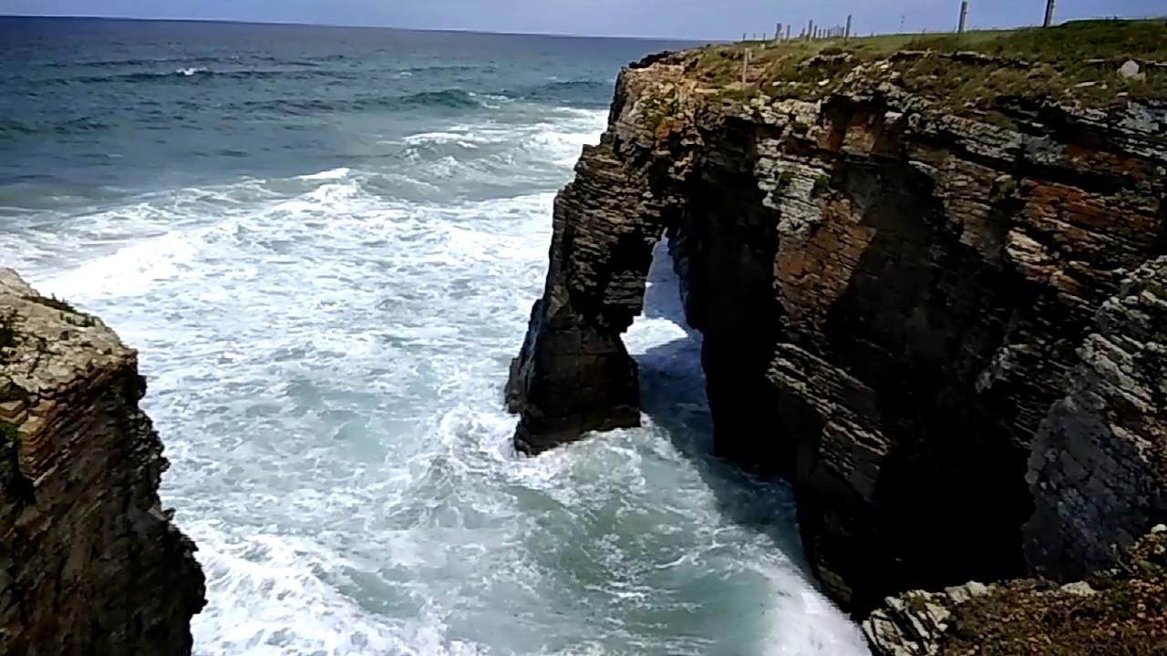 playa de las catedrales galicia mareas
