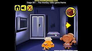 Прохождение Игры  Обезьянки  Этап 561  Видеоигра Космическая Обезьяна  Онлайн Игры