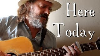 Cover of 'Here Today' by Paul McCartney