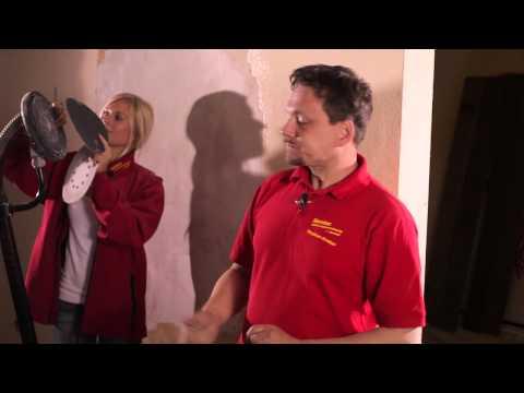 Video Der Decken- und Wandschleifer - Rentas Werkzeugvermietung